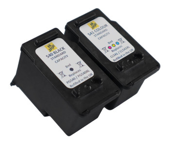 Refilled Canon PG540 Black and CL541 Colour Ink Cartridge