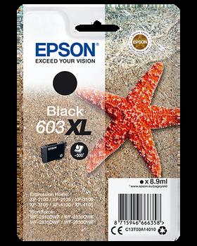 Epson original 603XL black ink cartridge C13T03A14010