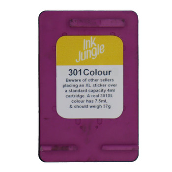 Refilled HP 301 Colour Ink Cartridge CH562EE