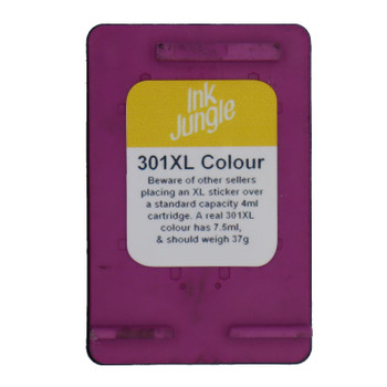 Refilled HP 301XL Colour Ink Cartridge CH564EE