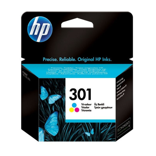 Genuine original HP 301 Colour Ink Cartridge boxed CH562EE