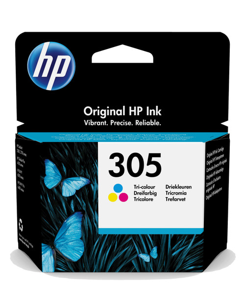 HP Original 305 Black Ink Cartridge 3YM60AE