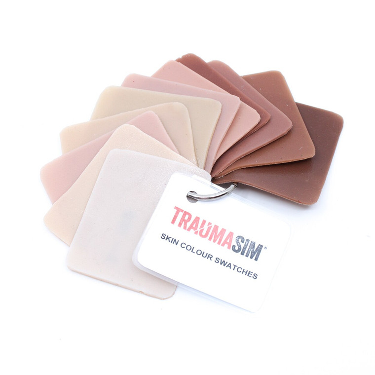 Skin Colour Swatches - keyring