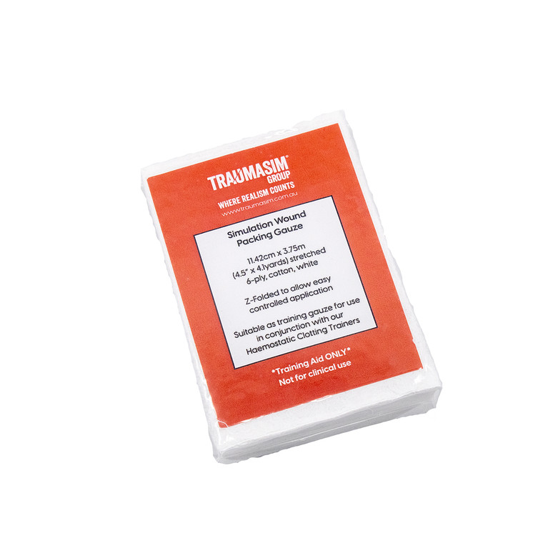 TraumaSim Training Gauze