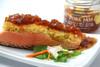 Couscous crusted salmon with Pork Jam pineapple glaze