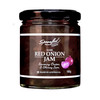 Red Onion Jam, savoury onion and shiraz jam, perfect with many foods and amazing with cheese.