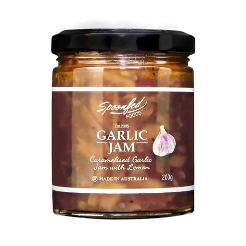 Baked ricotta with Garlic Jam