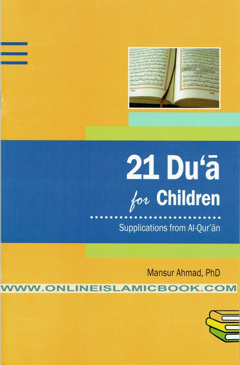 21 Du'a for Children Supplications From Al-qur'an