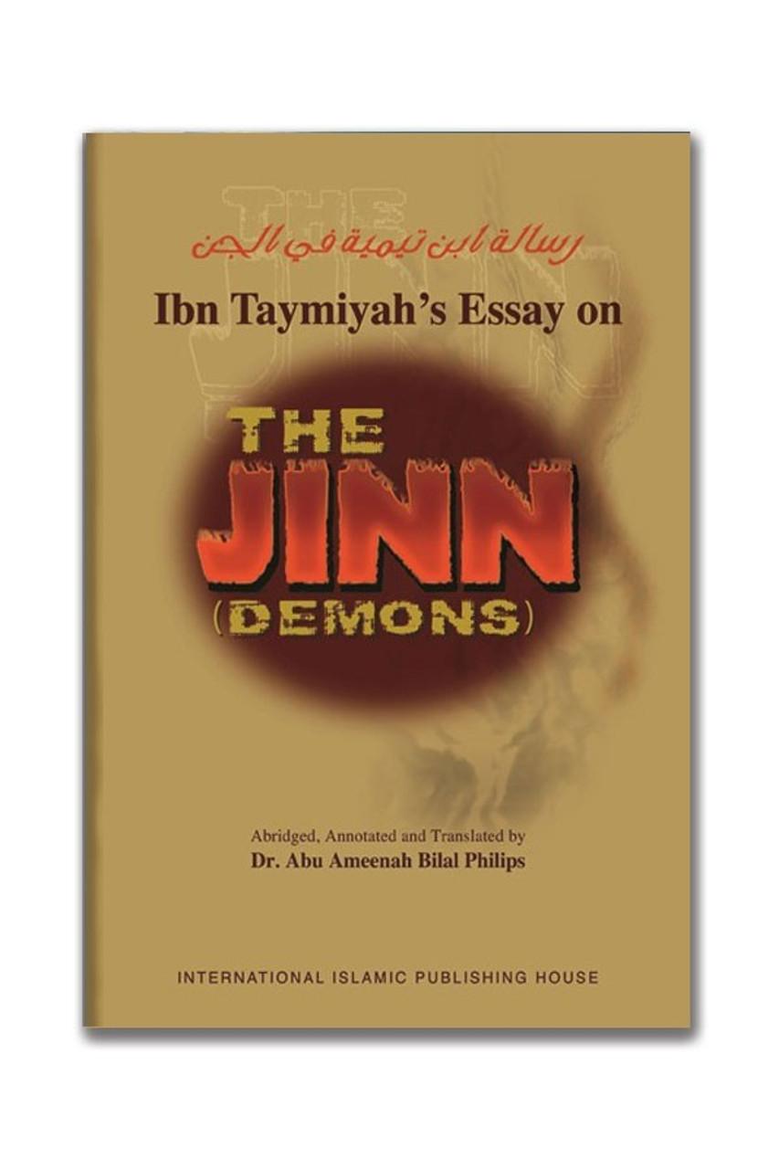 Ibn taymiyyah essay on the jinn pdf best cheap essay writers services gb