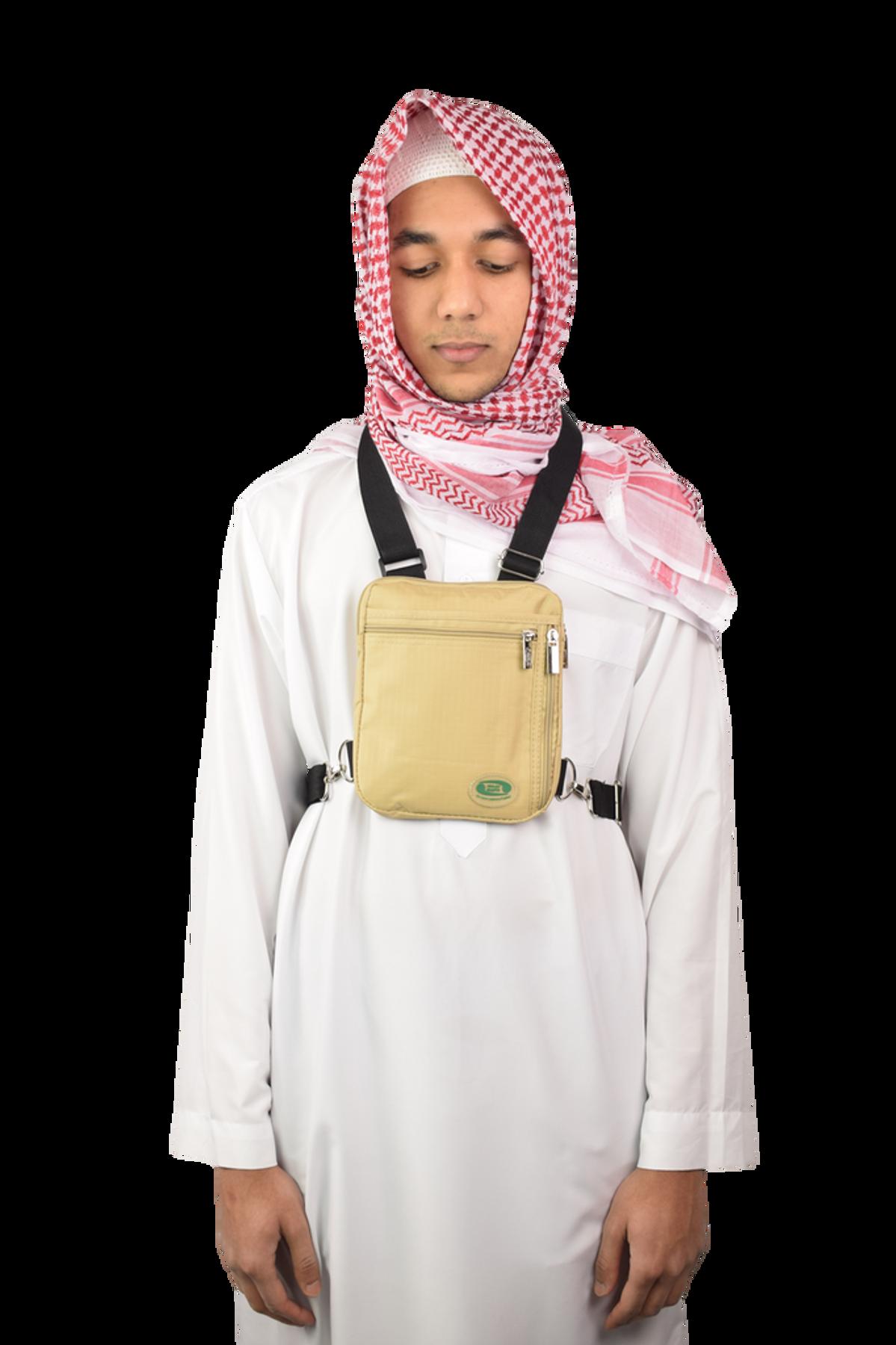 Hajj & Umrah - Secure Side & Neck Bag