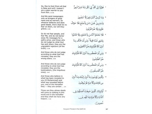 Frequent Phrases in The Quran