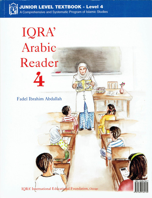 IQRA Arabic Reader 4 Textbook,9781563160134