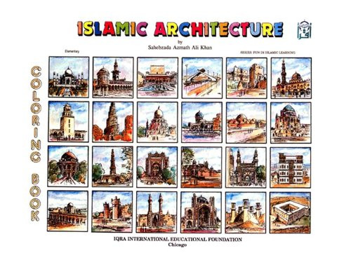 Islamic Architecture Coloring Book