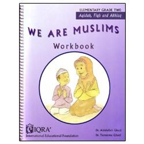 We Are Muslims Workbook Grade 2