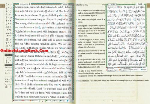 Tajweed Quran In Spanish Translation And Transliteration
