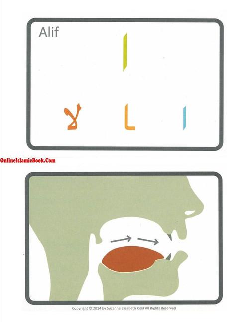 Arabic Alphabet Flash Cards By Suzanne Elizabeth Kidd
