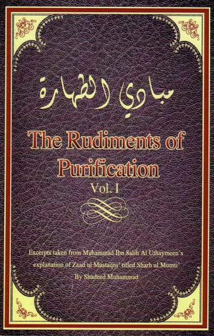 The Rudiments of Purification Vol 1