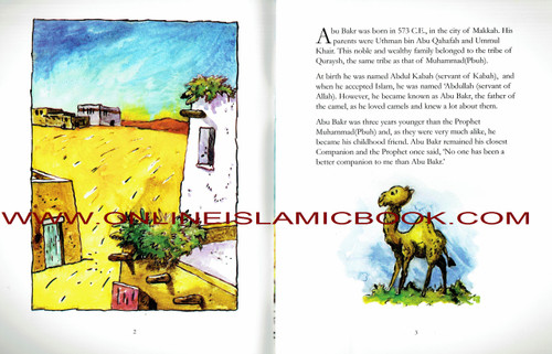 Abu Bakr Siddiq- The First Caliph Of Islam (Children Story Book)
