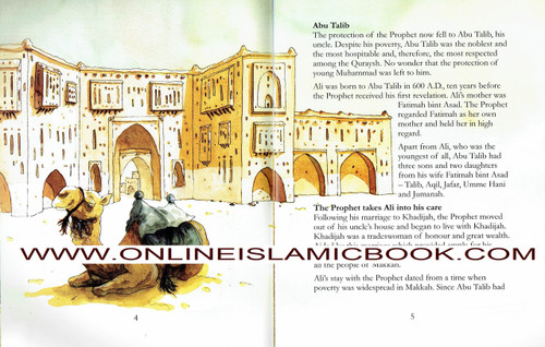Ali Ibn Abi talib - The Fourth Caliph Of Islam (Children Story Book)