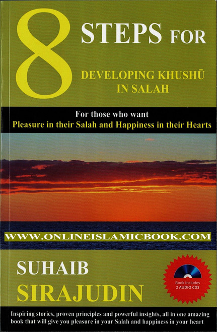 8 Steps For Developing Khushu' In Salah Book Includes 2 Audio Cds