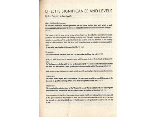 The Secret To A Happy Life,life iys significance and levels by Ibn Qayyim Al-Jawziyyah,9781910015056,