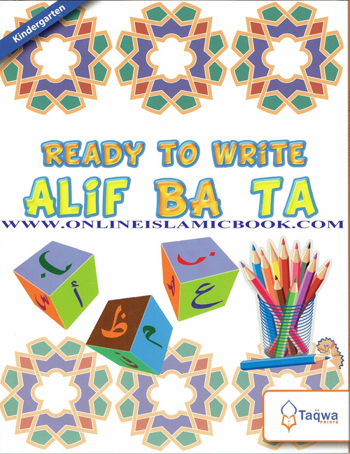 Ready to Write Alif Ba Ta (Weekend Learning Series)