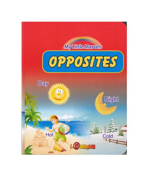 Opposites My little Marvels,9789953516349,