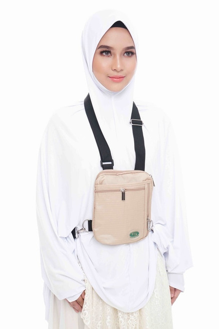 Hajj & Umrah - Secure Side & Neck Bag