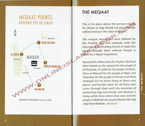 Hajj Umrah Booklet Size