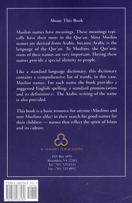 Namo Ki Dictionary (A Dictionary of Muslim Names With
