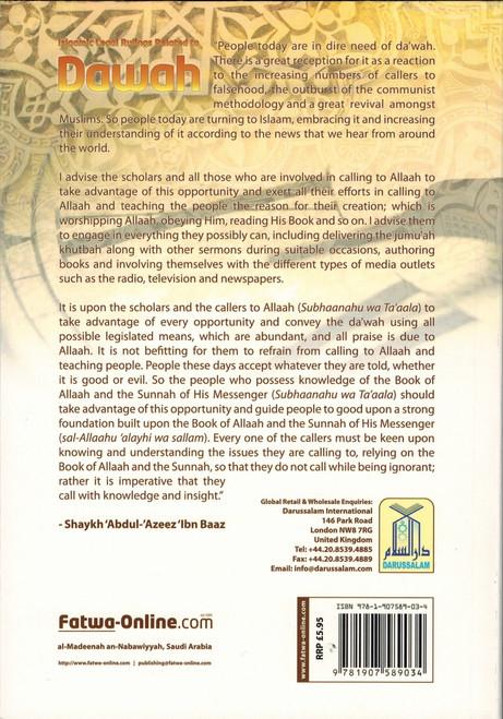 Islamic Legal Rulings Related to Dawah By Abdul Azeez ibn Abdullaah Ibn Baaz