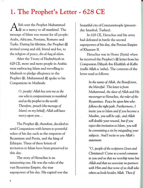Tell Me About Islamic History Pages from Islamic History