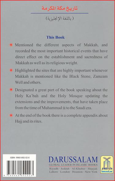 History of Makkah Mukarramah By Safi-ur-Rahman al-Mubarkpuri,9789960892023,