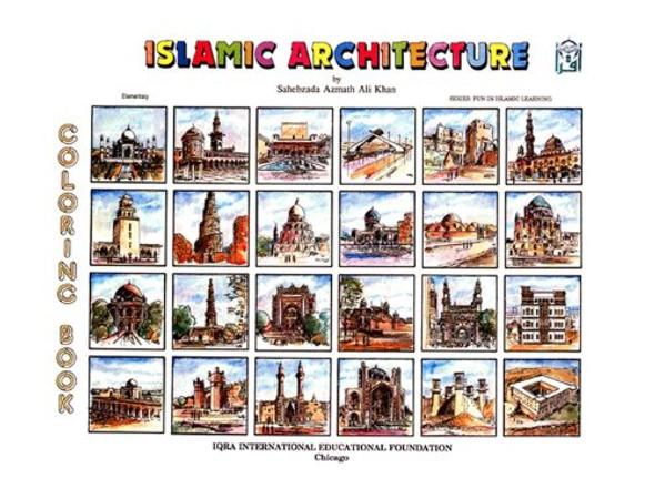 Islamic Architecture Coloring Book