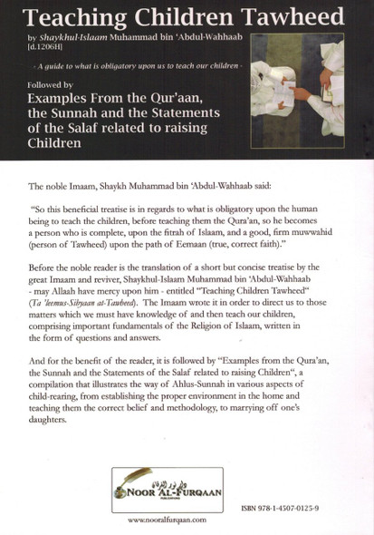 Teaching Children Tawheed