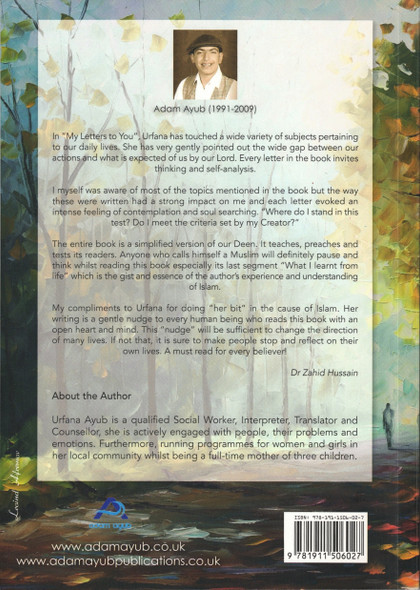 My Letters to You,My New Journey By Urfana Ayub