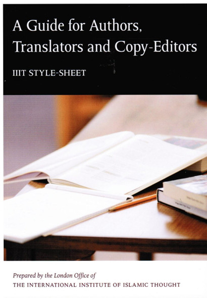 A Guide for Authors Translators and Copy editors