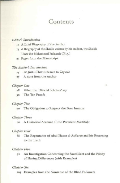 A History Of The Ahlul-Hadeeth A Study Of The Saved Sect And That It Is The People Of Hadeeth