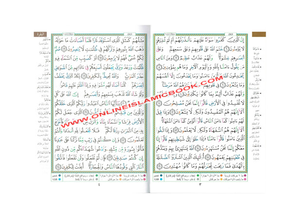 Tajweed Quran Arabic Only Medium Size