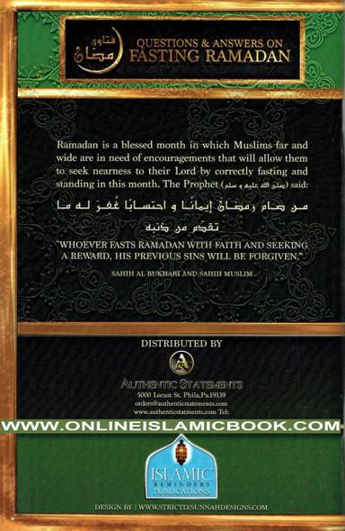 Questions and Answers on Fasting Ramadan by Sheikh Muqbil bin Hadi al-Waadi