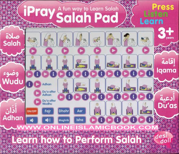 ipray Salah Pad For Girl ( A Fun Way To Learn Salah )
