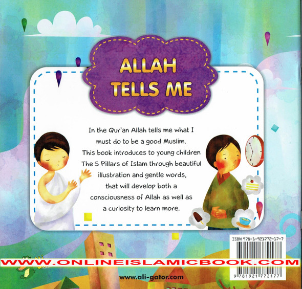 Allah Tells me An Introduction To The 5 Pillars Of Islam,9781921772177,