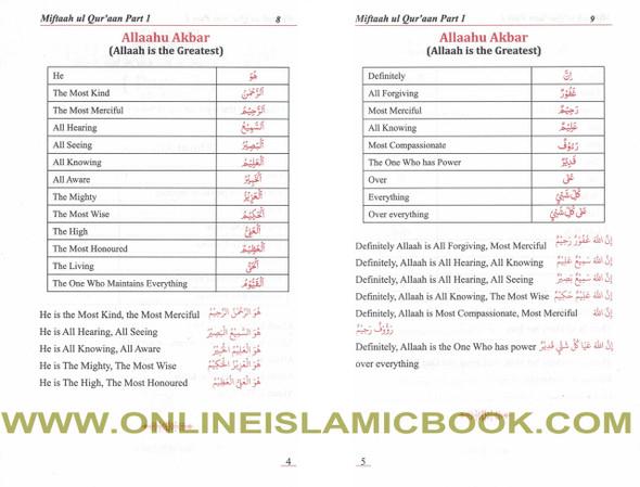 Miftah Ul Quran Parts 1-4