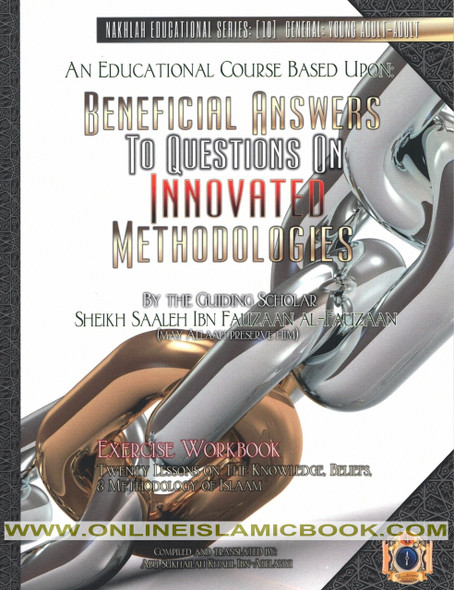 Beneficial Answers to Questions On Innovated Methodologies ,Exercise Workbook,9781938117503,
