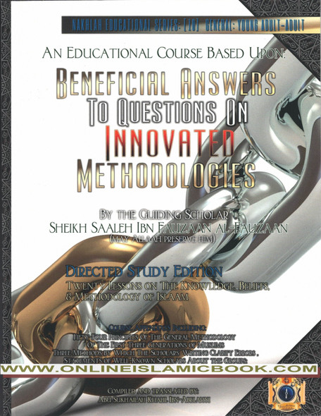 Beneficial Answers to Questions on Innovated Methodologies ,Directed Study Edition,9781938117510,