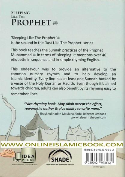 Sleeping Like the Prophet 40 Prophetic Traditions in Poetic English