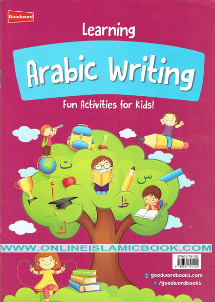 Learning Arabic Writing Fun Activities For Kids