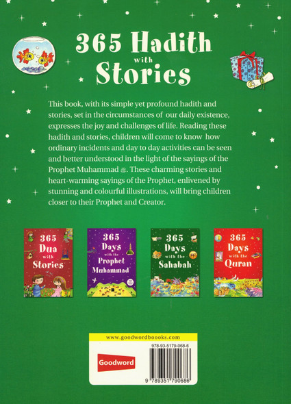 365 Hadith with Stories (Paperback),9789351790686,