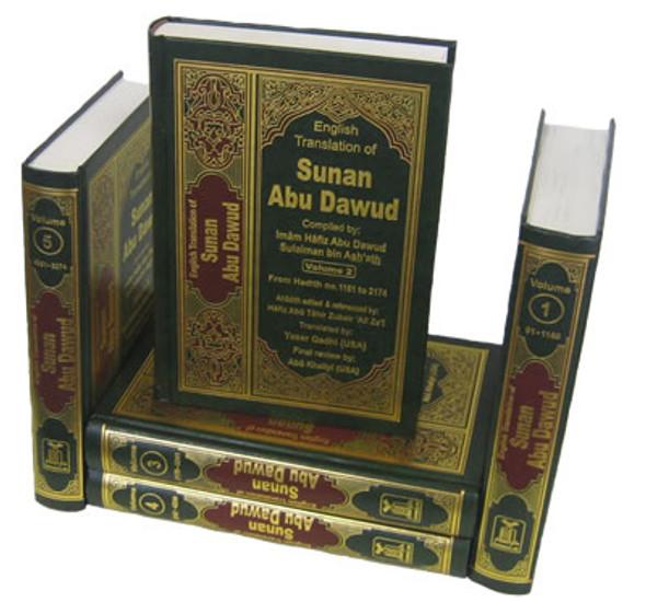 Sunan Abu Dawood (5 Vol. Set) By Imam Abu Dawood Sulaiman bin Ashath