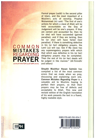 Common Mistakes Regarding Prayer